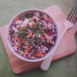 Tri Coloured Coleslaw