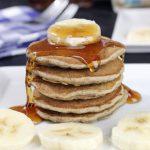Banana & Buckwheat Pancakes