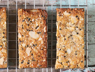 Sweet & Salty Almond Bars
