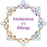 Food Intolerance V's Food Allergy